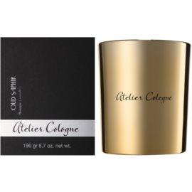 Atelier Cologne Oud Saphir świeczka zapachowa  190 g
