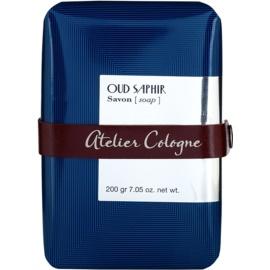 Atelier Cologne Oud Saphir Parfümierte Seife  unisex 200 g