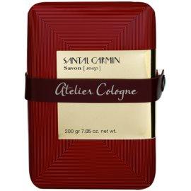 Atelier Cologne Santal Carmin parfémované mýdlo unisex 200 g