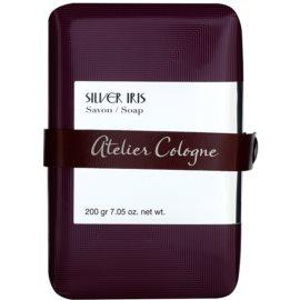 Atelier Cologne Silver Iris parfémované mydlo unisex 200 g