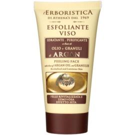 Athena's l'Erboristica Argan Oil Elixir pleťový peeling  75 ml