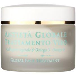 Athena's l'Erboristica Global Anti-Aging krem do twarzy z fito kofeiną przeciw zmarszczkom  50 ml