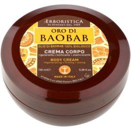 Athena's l'Erboristica Gold Baobab telový krém s regeneračným účinkom  150 ml