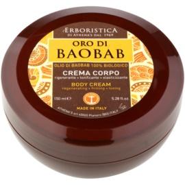 Athena's l'Erboristica Gold Baobab Körpercreme mit regenerierender Wirkung  150 ml