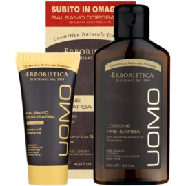 Athena's l'Erboristica Uomo Gift Set I.  pre-shaving lotion 125 ml + Aftershave Balm 20 ml