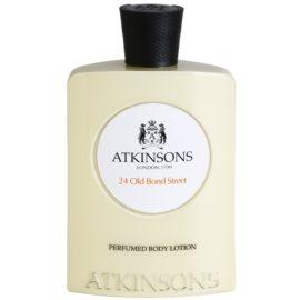 Atkinsons 24 Old Bond Street leite corporal para homens 200 ml