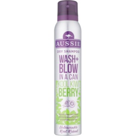 Aussie Wash+ Blow Kool Kiwi Berry suhi šampon  180 ml