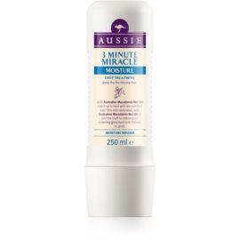 Aussie Miracle Moist masque 3 minutes pour cheveux secs  250 ml