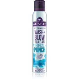 Aussie Wash+ Blow Tropical Punch сухий шампунь  180 мл