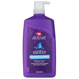 Aussie Moist condicionador hidratante para todos os tipos de cabelos  865 ml