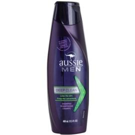 Aussie Men hloubkově čisticí šampon  400 ml