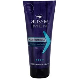 Aussie Men gel na vlasy silné zpevnění  198 g