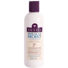 Aussie Miracle Moist condicionador para cabelos secos e danificados  250 ml
