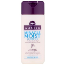 Aussie Miracle Moist champô para cabelos secos e danificados  75 ml