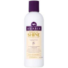 Aussie Miracle Shine condicionador para cabelo sem brilho e cansado  250 ml