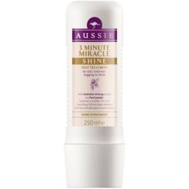 Aussie Miracle Shine masque 3 minutes pour cheveux ternes et fatigués  250 ml