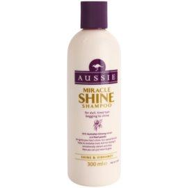 Aussie Miracle Shine shampoing pour cheveux ternes et fatigués  300 ml