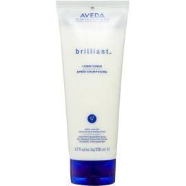 Aveda Brilliant après-shampoing pour cheveux traités chimiquement  200 ml