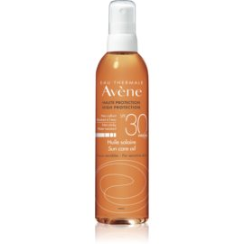 Avène Sun Sensitive olejek ochronny do opalania w sprayu SPF 30  200 ml