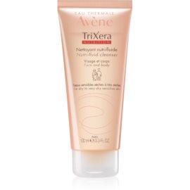 Avène TriXera Nutrition čistilni gel za obraz in telo  100 ml