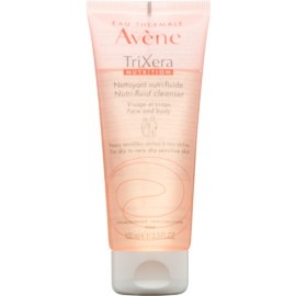 Avène TriXera Nutrition очищуючий гель для обличчя та тіла  100 мл