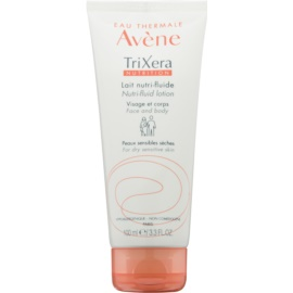Avène TriXera Nutrition Face and Body Nourishing Fluid Lotion  For Dry and Sensitive Skin  100 ml