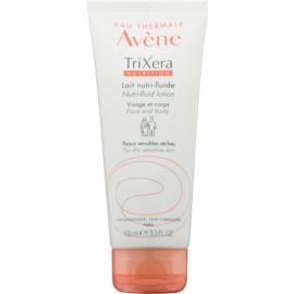 Avène TriXera Nutrition Intensiv nährende Fluidmilch zur Gesichts- und Körperpflege für trockene und empfindliche Haut  100 ml