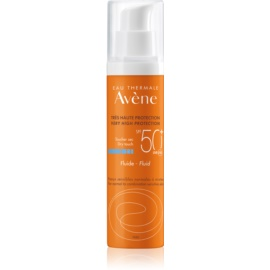 Avène Sun Sensitive fluid ochronny dla skóry normalnej i mieszanej SPF 50+  50 ml