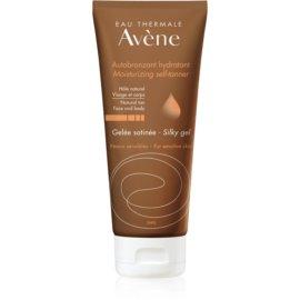 Avène Sun Self Tanning gel autobronzeador para rosto e corpo  100 ml