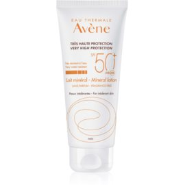 Avene Sun Mineral Protective Lotion Free of Chemical Filters and Fragrance SPF 50+  100 ml