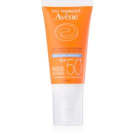 Avène Sun Sensitive emulsão bronzeadora SPF50+  50 ml