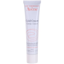 Avène Cold Cream Cream for Sensitive and Irritated Skin 40 ml