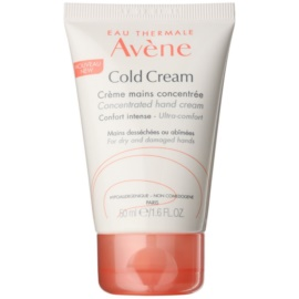 Avène Cold Cream creme de mãos para pele seca a muito seca  50 ml