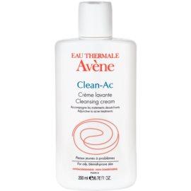 Avène Clean-Ac mycí krém pro pleť podrážděnou a vysušenou léčbou akné  200 ml
