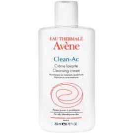 Avène Clean-Ac Waschcreme für irritierte und trockene Haut nach einer Aknebehandlung  200 ml