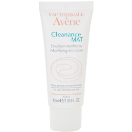 Avène Cleanance Mat Mattifying Emulsion To Regulate Sebum  40 ml