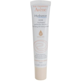 Avène Hydrance подхранващ хидратиращ уеднаквяващ крем за суха към много суха чувствителна кожа цвят Natural SPF 30  40 мл.