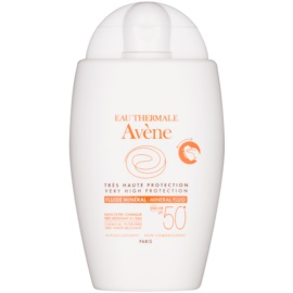 Avène Sun Mineral Sunscreen Fluid without Chemical Filters SPF 50+  40 ml