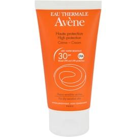 Avène Sun Sensitive napozókrém SPF 30  50 ml