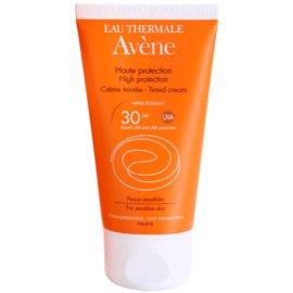 Avène Sun Sensitive védő tonizáló krém arcra SPF 30  50 ml