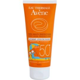 Avene Sun Kids Protective Lotion For Kids SPF50+  100 ml