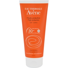 Avene Sun High Protection leche bronceadora SPF 30 (Sun Lotion) 100 ml