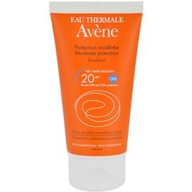 Avène Sun Sensitive napozó emulzió SPF 20  50 ml