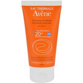 Avène Sun Sensitive Emulsion For Sunbathing SPF 20  50 ml
