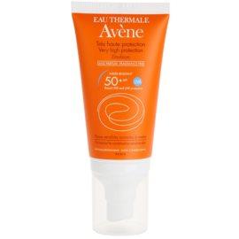 Avène Sun Sensitive parfümmentes napozó emulzió SPF 50+  50 ml
