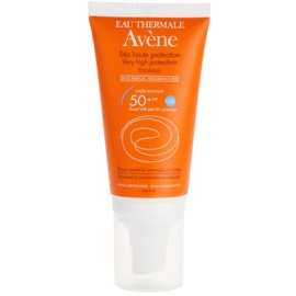 Avène Sun Sensitive emulsie fara parfum SPF 50+  50 ml