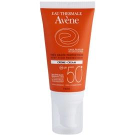 Avène Sun Sensitive krema za sončenje SPF 50+ brez dišav  50 ml