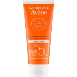 Avène Sun Sensitive lotiune pentru bronzat SPF 50+  100 ml