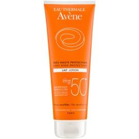 Avène Sun Sensitive lotiune pentru bronzat SPF 50+  250 ml