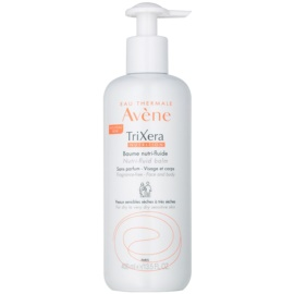 Avene TriXera Nutrition Intense Nourishing Fluid Balm for Face and Body Fragrance-Free  400 ml
